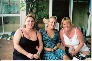 C:\Users\shaun\Documents\memory stick\New folder\New Australia\web australia photos\Those lovely girls we met on the Rottnest ferry - Janine (left) and Francesca (middle)..jpg