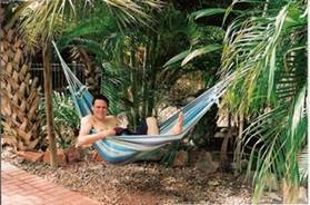 C:\Users\shaun\Documents\memory stick\New folder\New Australia\web australia photos\Soren (our Norwegian friend) relaxing in my hammock!.jpg